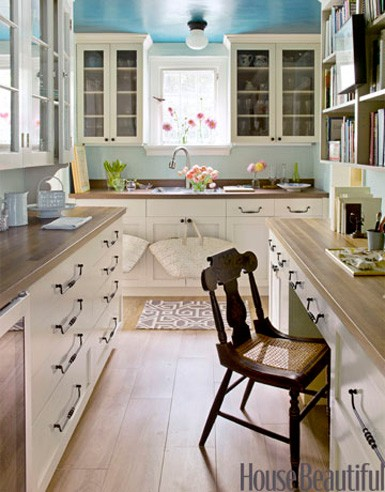 More Kitchen Inspiration in Whites and Creams | A Detailed House