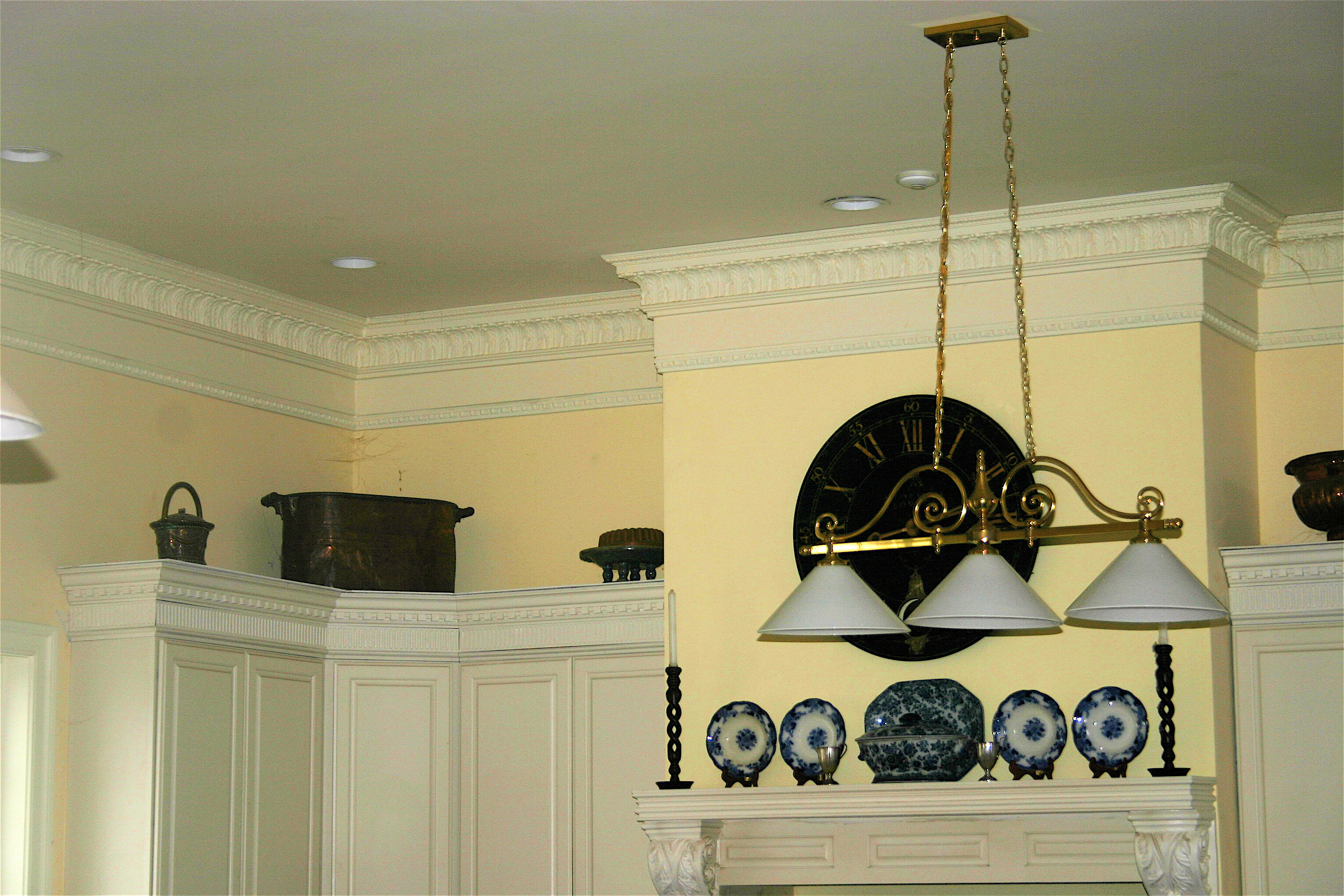 Taking Plain Stock Kitchen Cabinets And Making Them Look Custom And
