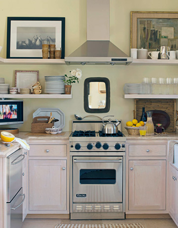 Small kitchens that still inspire a detailed house for Beautiful small kitchen designs