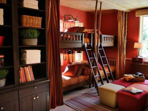 Sharing means caring a detailed house for Boys bedroom designs for small spaces