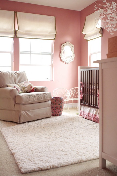 Sweet Nurseries For Sweet Baby Girls A Detailed House