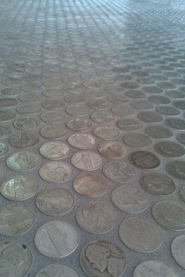 Grouted Nickel Tile Floor 03 Rect540