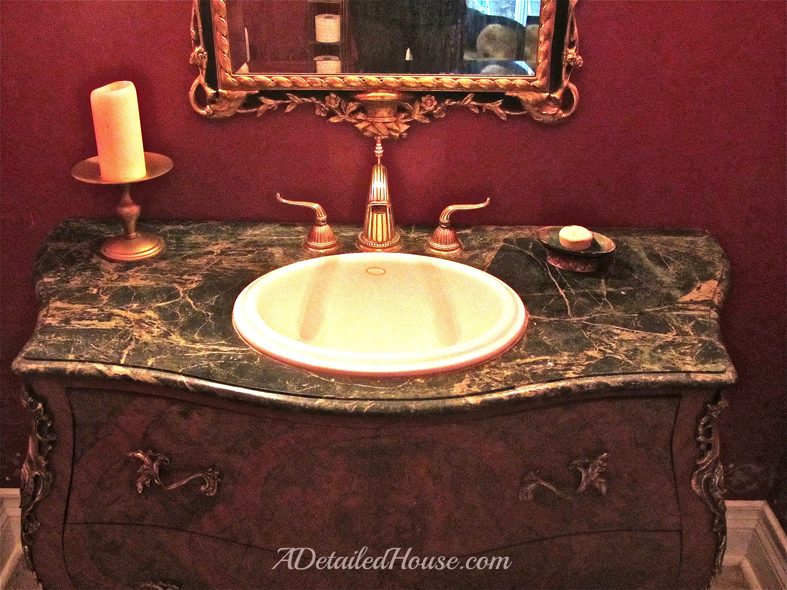 DIY Custom Bathroom Sink Cabinet | A Detailed House
