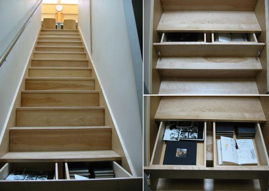 Drawers In The Risers